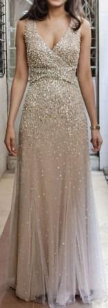 80 Inspiring Beautiful Sequin Bridal Gown 17