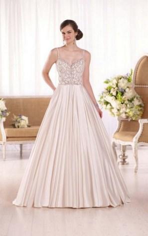 80 Inspiring Beautiful Sequin Bridal Gown 20