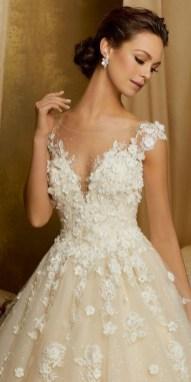 80 Inspiring Beautiful Sequin Bridal Gown 29
