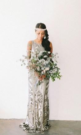 80 Inspiring Beautiful Sequin Bridal Gown 32