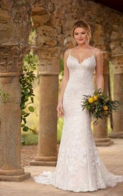 80 Inspiring Beautiful Sequin Bridal Gown 34