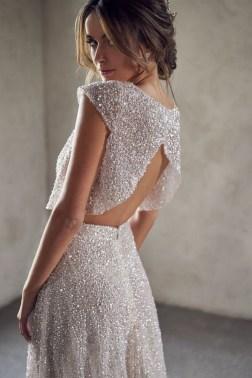 80 Inspiring Beautiful Sequin Bridal Gown 41