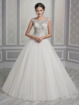 80 Inspiring Beautiful Sequin Bridal Gown 49
