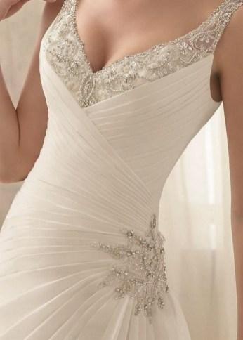 80 Inspiring Beautiful Sequin Bridal Gown 58