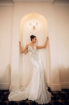 80 Inspiring Beautiful Sequin Bridal Gown 74