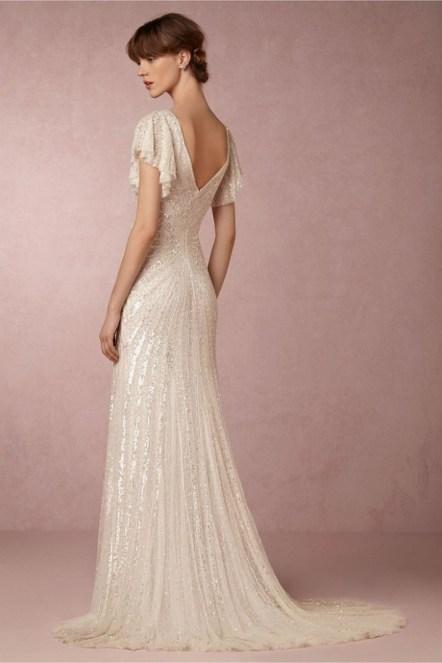 80 Inspiring Beautiful Sequin Bridal Gown 78