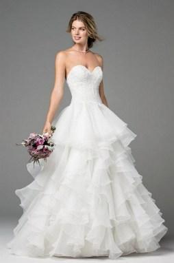 80 Inspiring Beautiful Sequin Bridal Gown 79