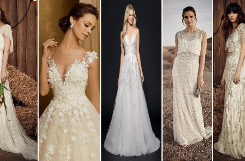 80 Inspiring Beautiful Sequin Bridal Gown