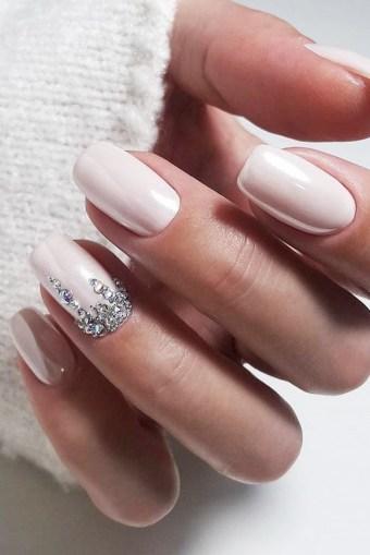 80 The Most Elegant Wedding Nail Art 12