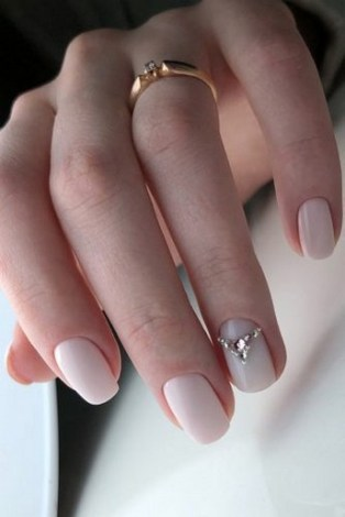 80 The Most Elegant Wedding Nail Art 19