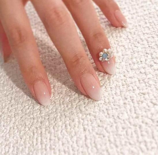 80 The Most Elegant Wedding Nail Art 35