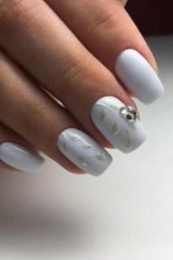 80 The Most Elegant Wedding Nail Art 45