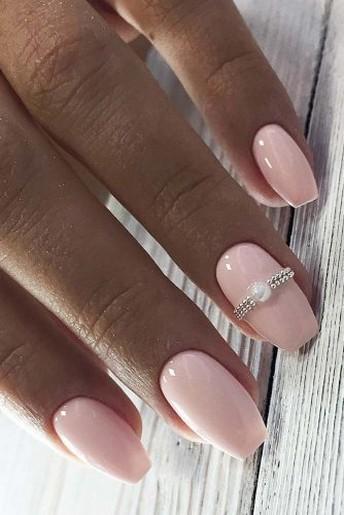 80 The Most Elegant Wedding Nail Art 48