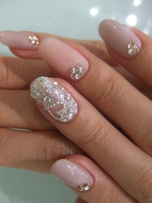 80 The Most Elegant Wedding Nail Art 49