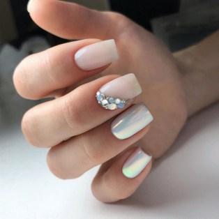 80 The Most Elegant Wedding Nail Art 61