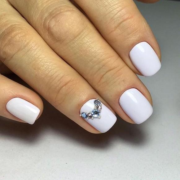 80 The Most Elegant Wedding Nail Art 64