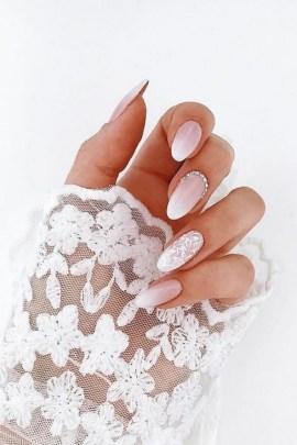 80 The Most Elegant Wedding Nail Art 74