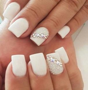 80 The Most Elegant Wedding Nail Art 9