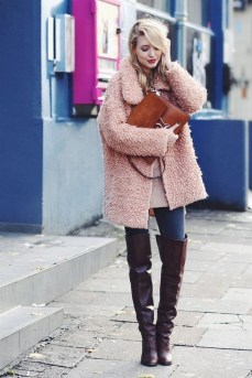80 Thigh High Boots Outfit Street Style Ideas 03