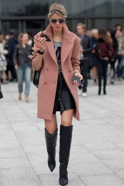 80 Thigh High Boots Outfit Street Style Ideas 22