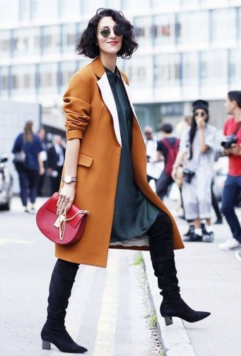 80 Thigh High Boots Outfit Street Style Ideas 32
