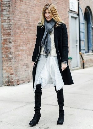 80 Thigh High Boots Outfit Street Style Ideas 36