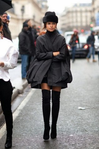 80 Thigh High Boots Outfit Street Style Ideas 57