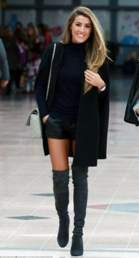 80 Thigh High Boots Outfit Street Style Ideas 72
