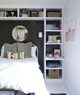35 Bedroom Storage Ideas Small Spaces for Womens 11
