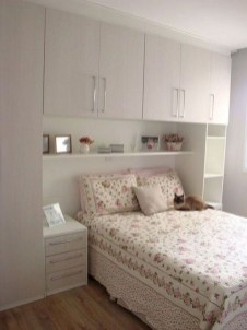 35 Bedroom Storage Ideas Small Spaces for Womens 17