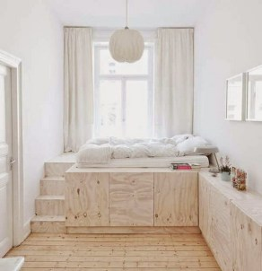 35 Bedroom Storage Ideas Small Spaces for Womens 19
