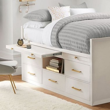 35 Bedroom Storage Ideas Small Spaces for Womens 23