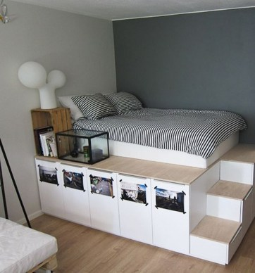 35 Bedroom Storage Ideas Small Spaces for Womens 28