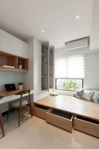 35 Bedroom Storage Ideas Small Spaces for Womens 30