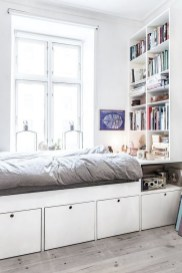 35 Bedroom Storage Ideas Small Spaces for Womens 31