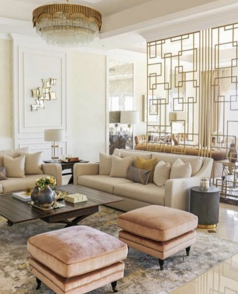 40 Comfy and Luxurious Living Room You Need to See 39