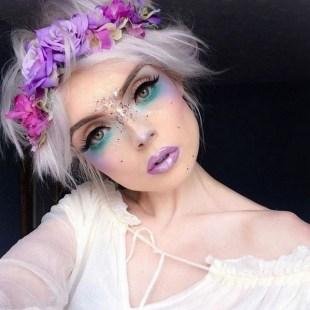 40 Fairy Fantasy Makeup for Halloween Party Ideas 04