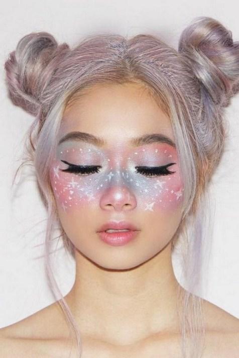 40 Fairy Fantasy Makeup for Halloween Party Ideas 10