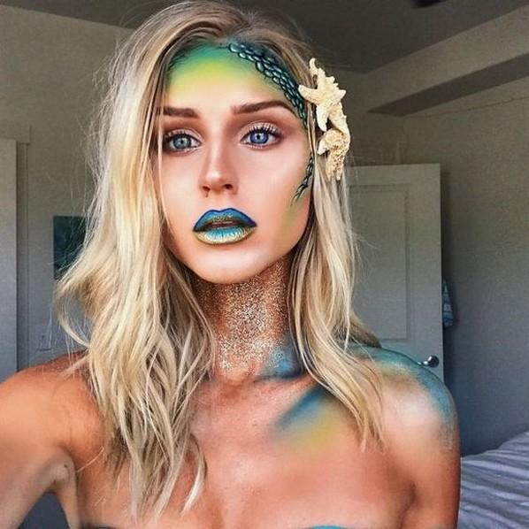 40 Fairy Fantasy Makeup for Halloween Party Ideas 16