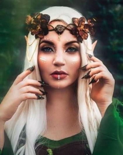 40 Fairy Fantasy Makeup for Halloween Party Ideas 22