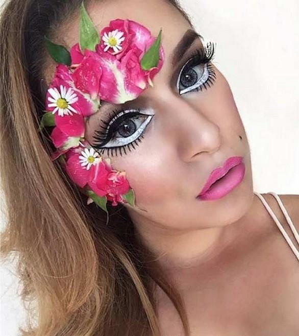40 Fairy Fantasy Makeup for Halloween Party Ideas 25