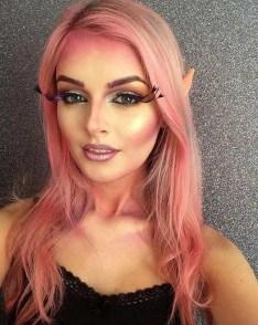 40 Fairy Fantasy Makeup for Halloween Party Ideas 27
