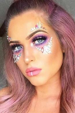 40 Fairy Fantasy Makeup for Halloween Party Ideas 36