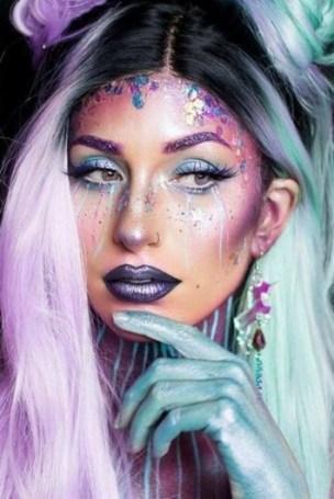 40 Fairy Fantasy Makeup for Halloween Party Ideas 38