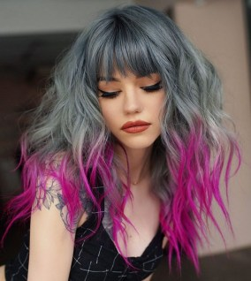 40 Fantastic Hair Color Combinations You Need To See 10