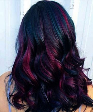 40 Fantastic Hair Color Combinations You Need To See 17