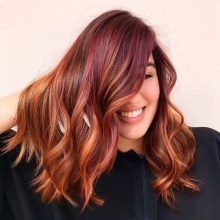 40 Fantastic Hair Color Combinations You Need To See 31