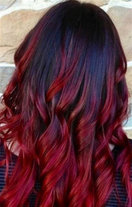 40 Fantastic Hair Color Combinations You Need To See 33