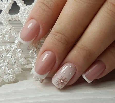 50 Acrylic Nails Ideas with Glitter Which You Love 25