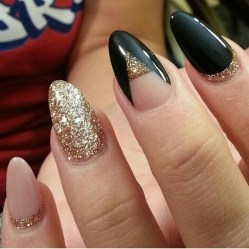50 Acrylic Nails Ideas with Glitter Which You Love 47